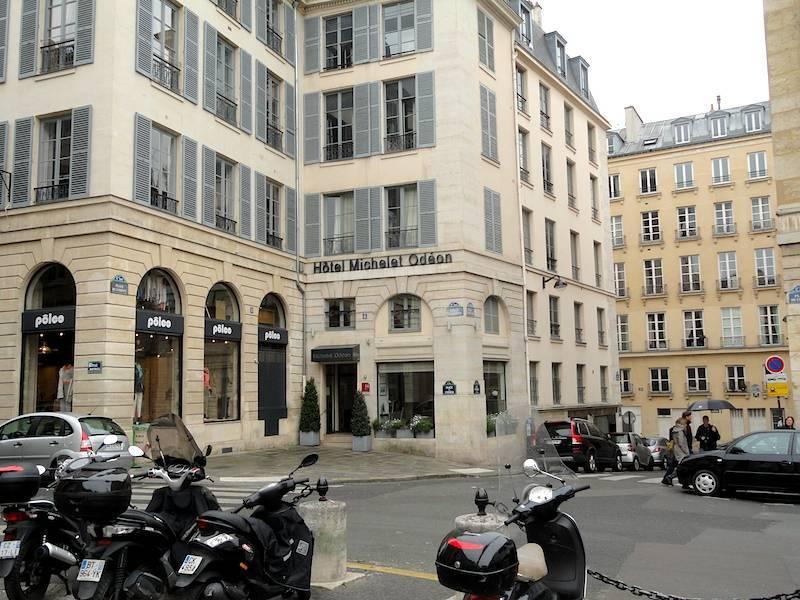 Hotel Michelet Odeon Paris France